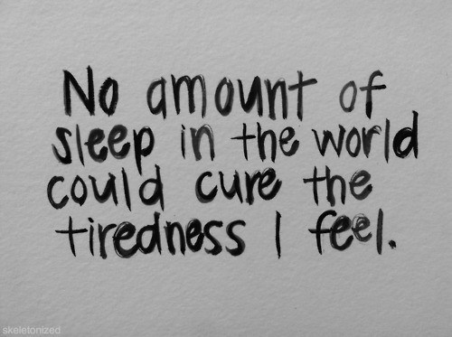 bipolar tired