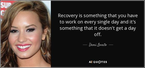 demi lovato recovery